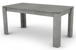 Inter 160x80 cm, šedý betón, rozkladacia