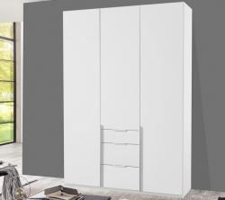 New York D, 135 cm, biela / biely lesk